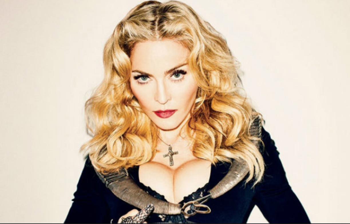 Esta no es la primera vez que Madonna se muestra desnuda