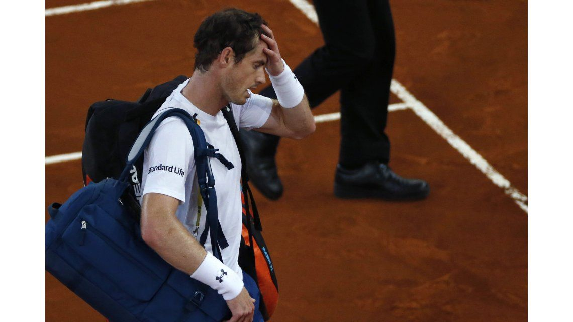 El croata Coric dio la sorpresa y eliminó a Murray en el Masters 1000 de Madrid