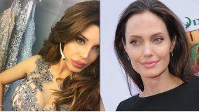 Charlotte Caniggia se quiere parecer a Angelina Jolie