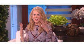 Nicole Kidman sabe aplaudir