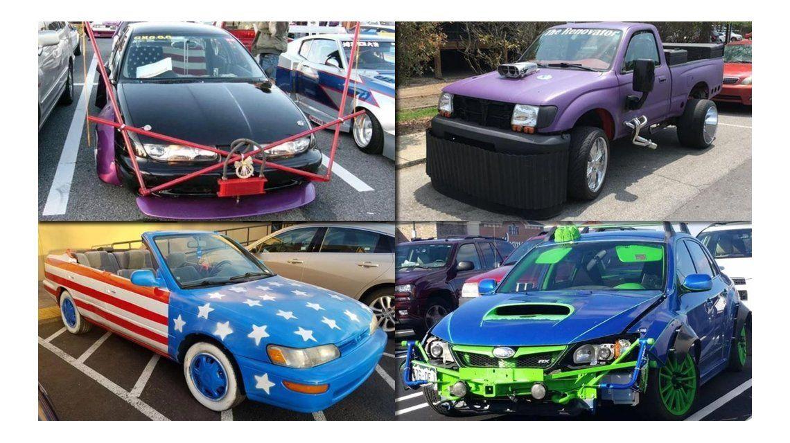 Los peores tuneos de autos