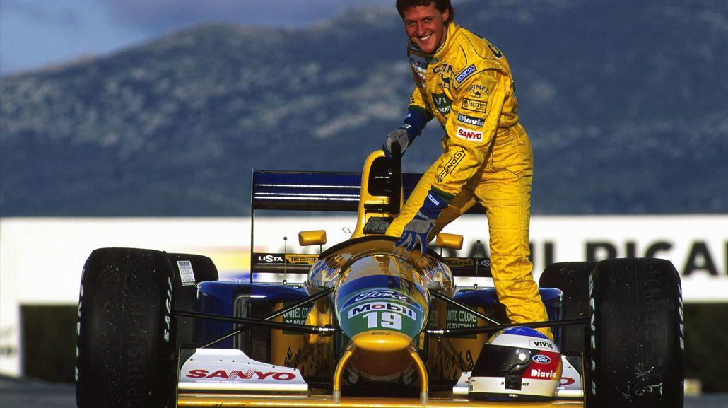 Subastarán el Benetton que usó Schumacher en su debut en F-1