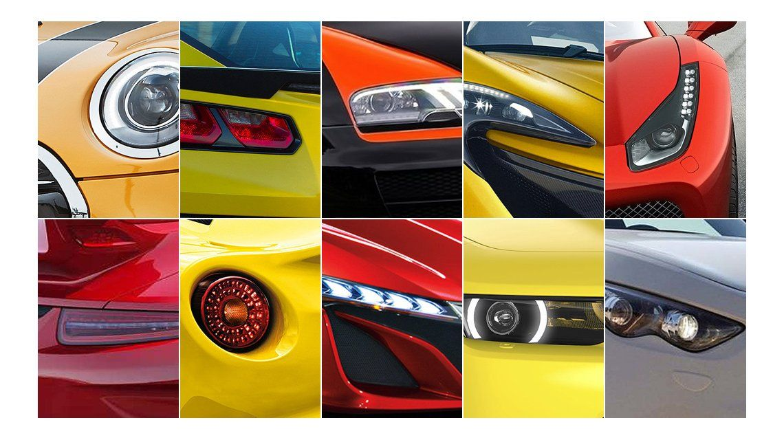 Descubrí qué auto aparece en cada foto