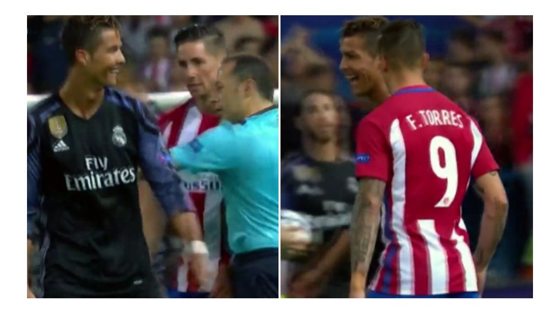 La cargada de Cristiano Ronaldo al Niño Torres: Para casa, tonto