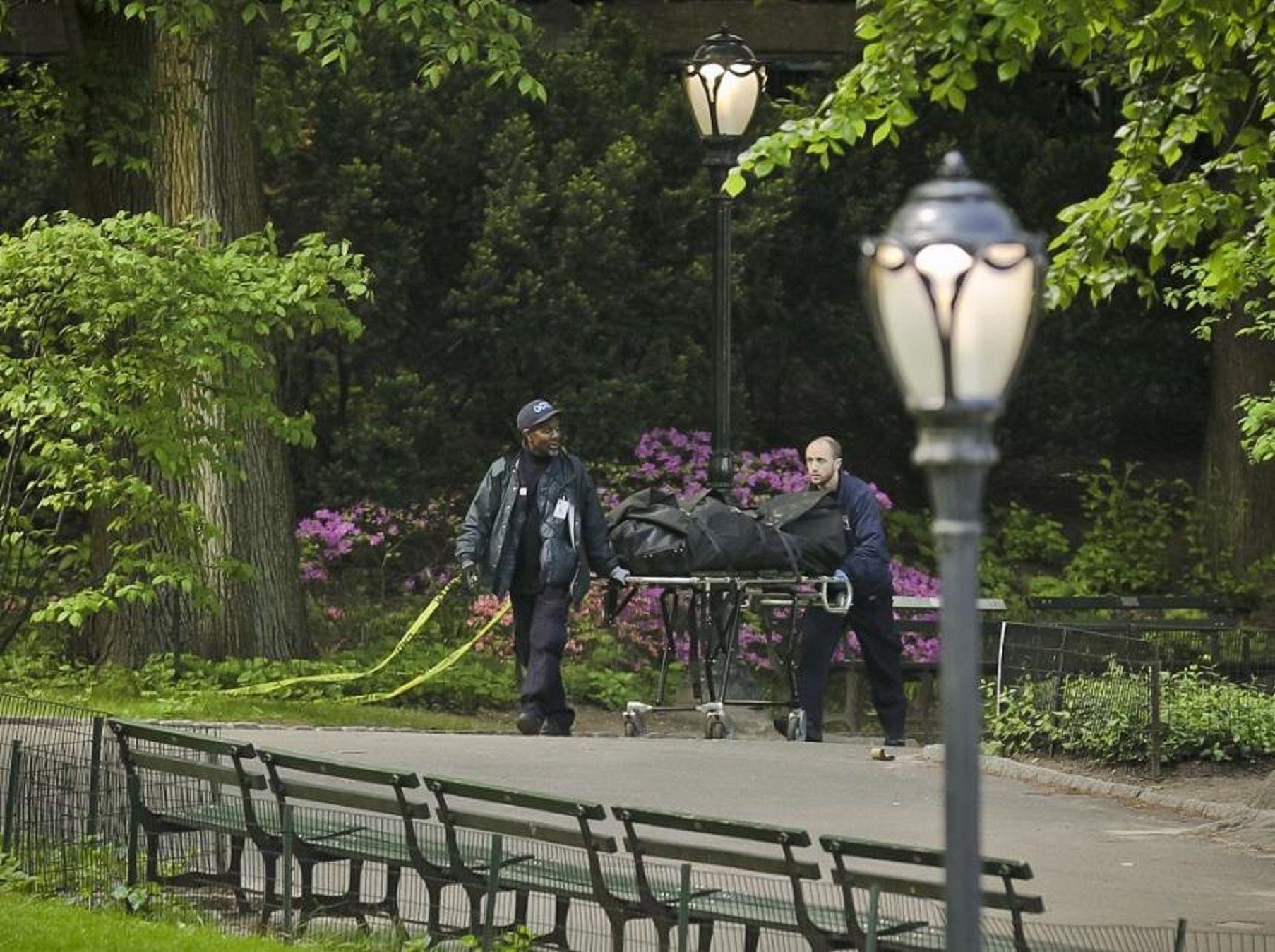 Hallaron dos cuerpos dentro del Central Park de Nueva York