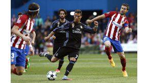 Cristiano Ronaldo, ante la marca del español Gabi