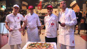 Ezequiel Ortigoza, segundo desde la derecha, quedó séptimo en la categoría Libre