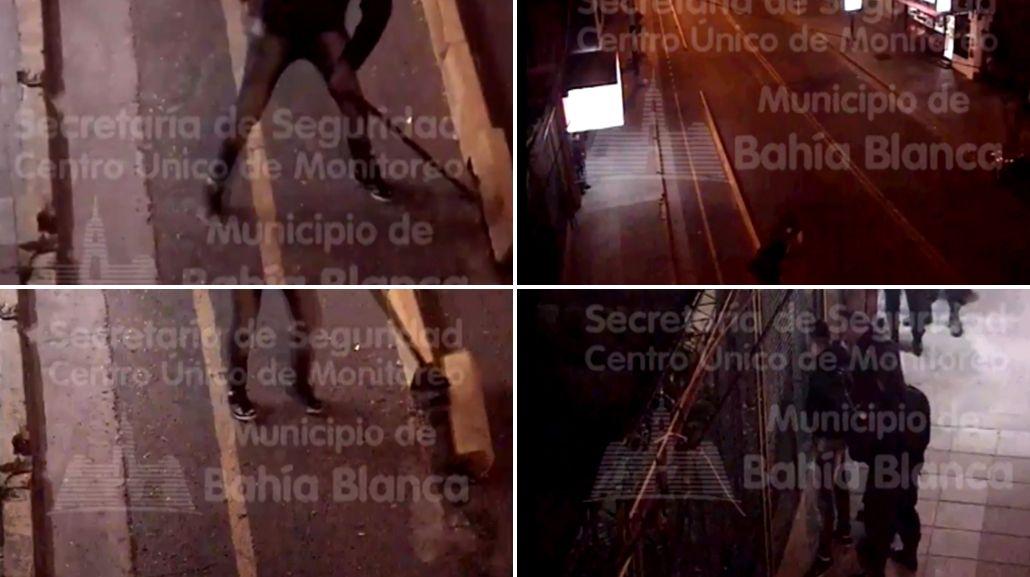 VIDEO: Le pusieron una bicisenda frente al local y la destrozó