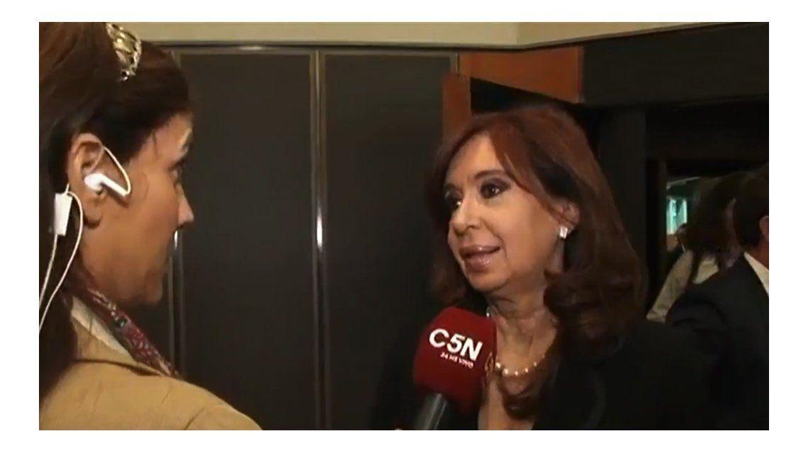 Cristina vinculó a Macri con el fallo del 2x1