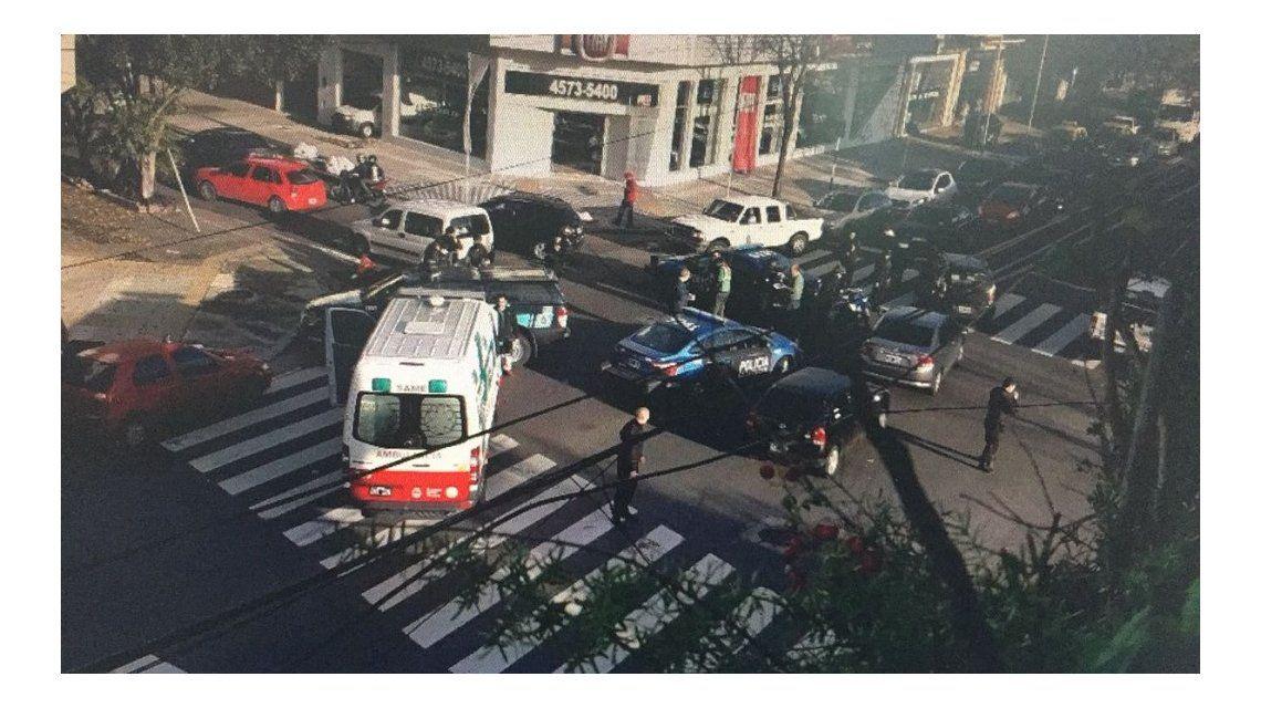 Un muerto por un choque en Villa Urquiza