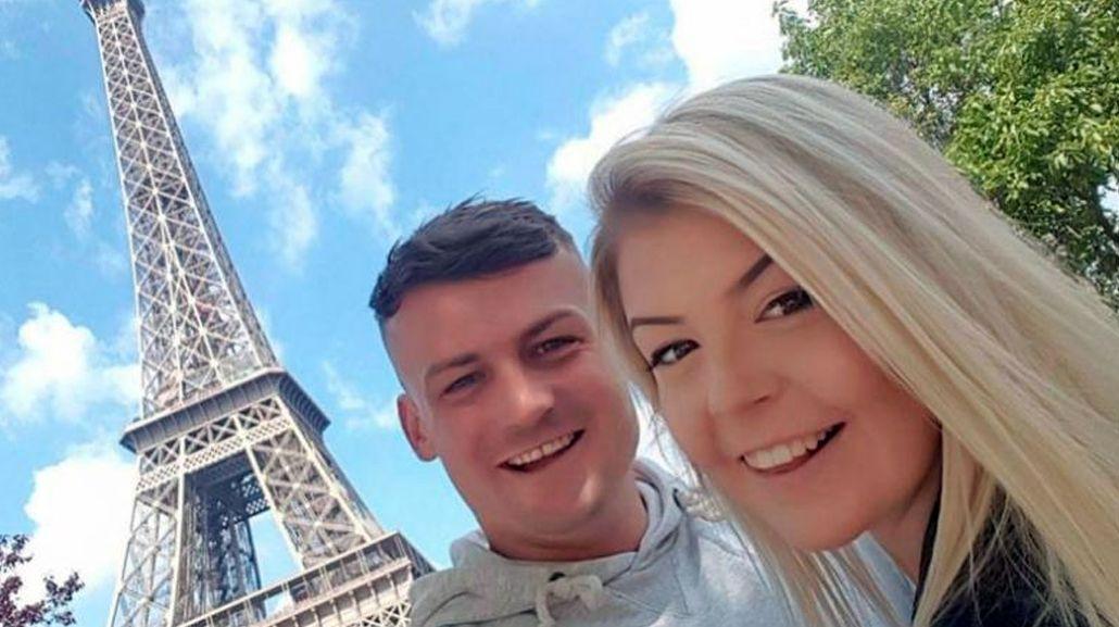 La pareja quería disfrutar de unas vacaciones románticas