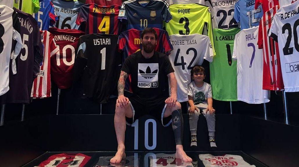 El museo de camisetas de Messi: ¿cómo consiguió cada una?
