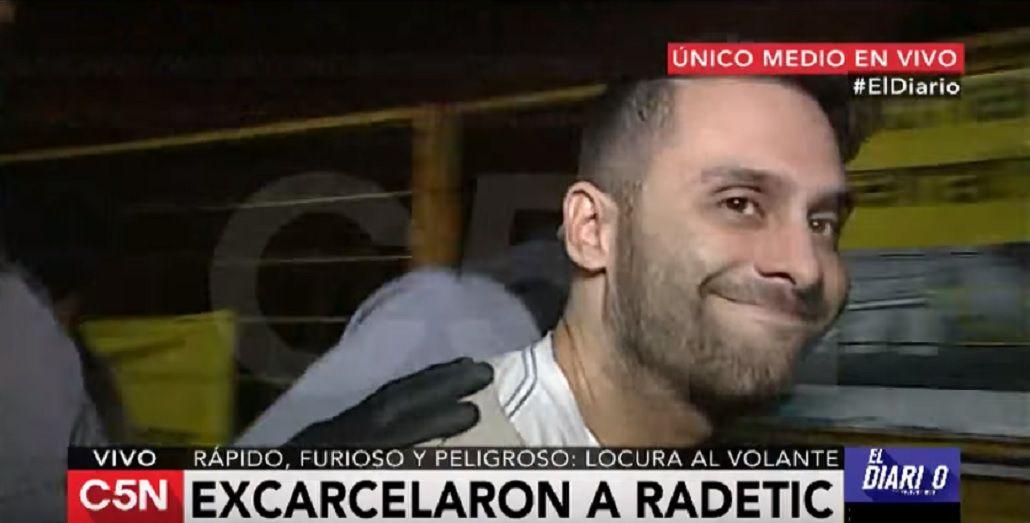 Alejandro Radetic habló tras ser excarcelado