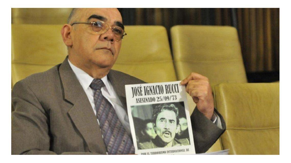 El represor condenado Arnaldo José Chubi López