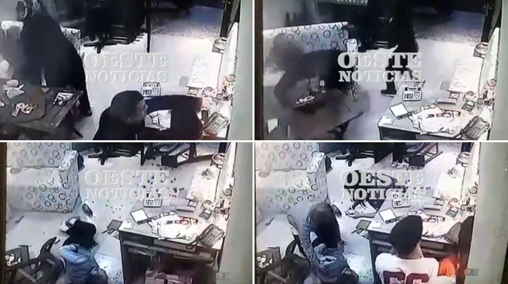 El crimen ocurrió en una pizzería de Villa Luzuriaga