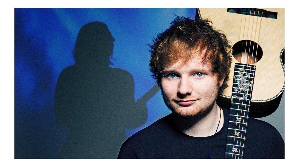 Benjamín Amadeo será telonero de Ed Sheeran en La Plata.