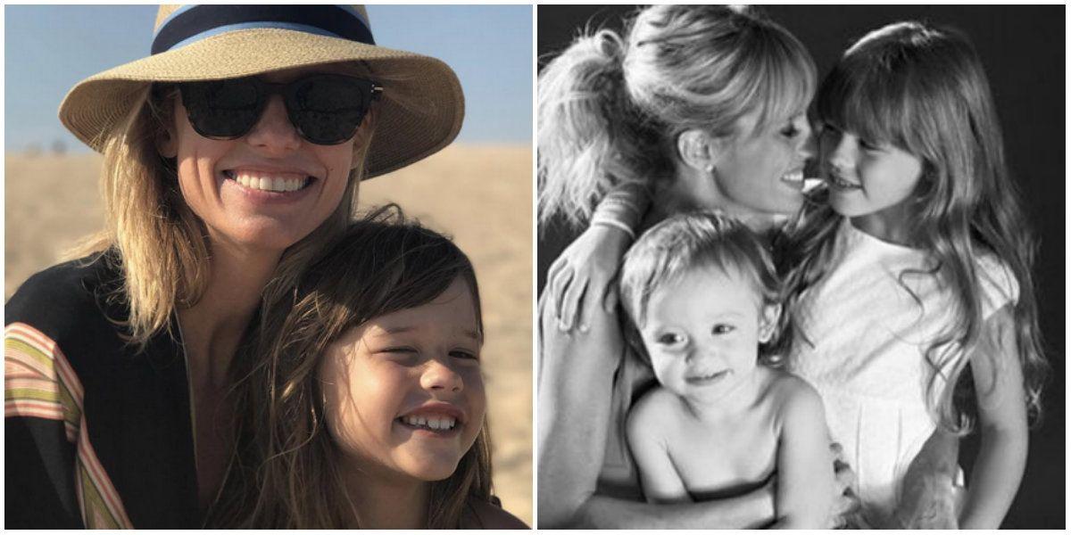 Mariana Fabbiani celebró el cumpleaños de Matilda