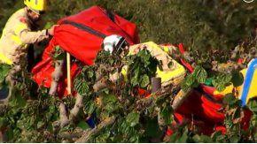 Una nena murió por una explosión en un castillo inflable