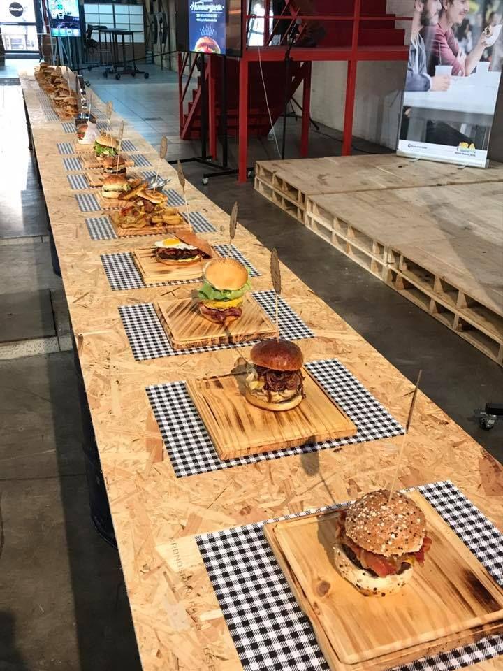 La votación incluyó a 25 hamburgueserías porteñas