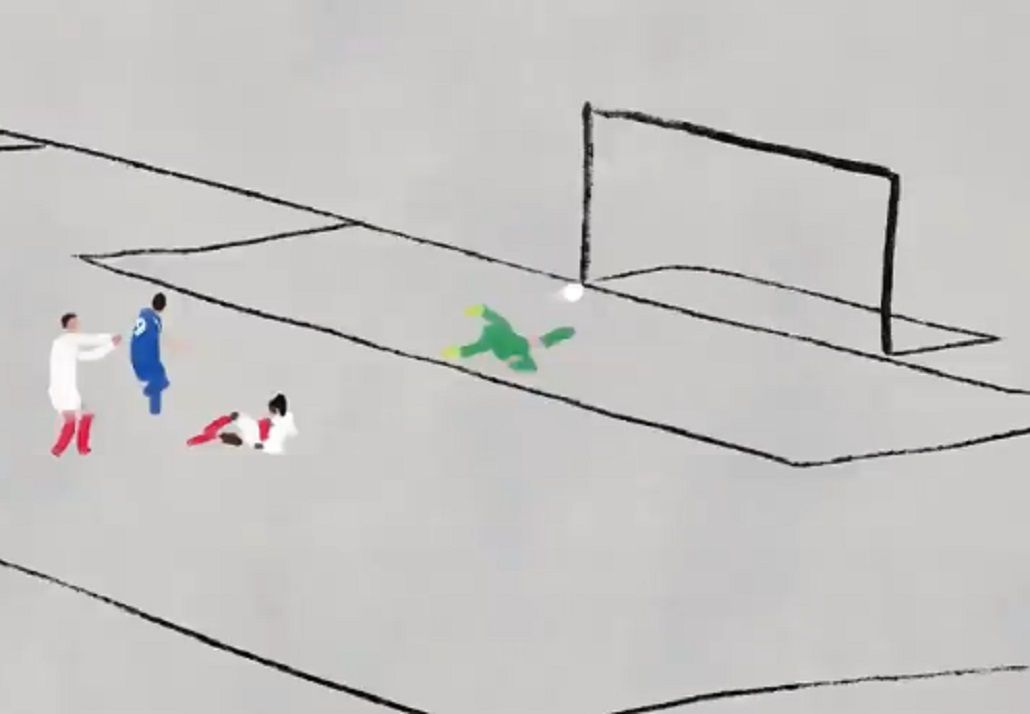 La gran definición del delantero argentino
