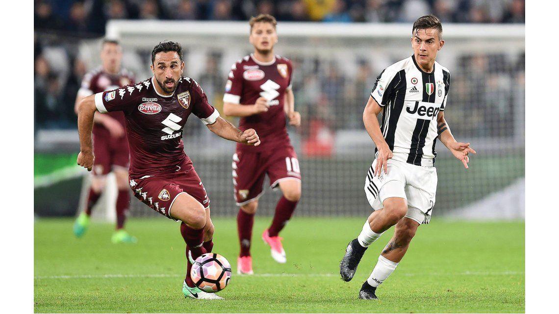 Un gol de Higuaín salvó a la Juventus de una derrota en el clásico ante Torino