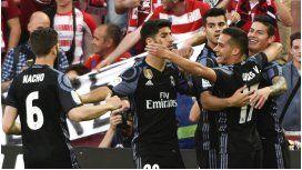 Real Madrid aplastó al Granada y se encamina hacia el título