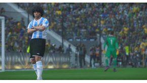 Maradona acordó con Konami por el PES 2017