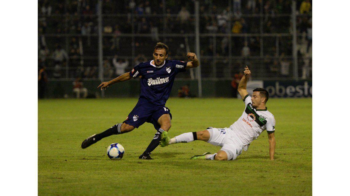 San Martín de San Juan venció a Quilmes sobre la hora