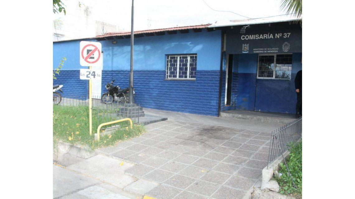 La comisaría donde el bebé fue salvado