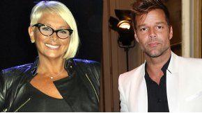 El encuentro de Carmen Barbieri y Ricky Martin en Las Vegas