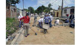 Beneficiarios del programa Argentina Trabaja