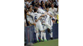 El Merengue ganó 3 a 0 en el Bernabéu y puso un pie en la final de la Champions
