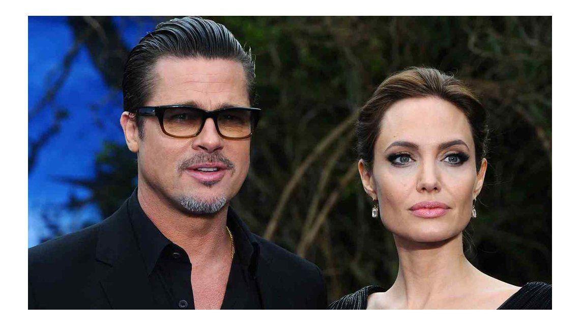 Brad Pitt contó que se separó de Angelina Jolie por el alcohol