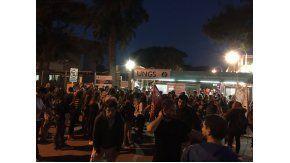 Marcha en la UNGS por el abuso sexual a Laura Lescano