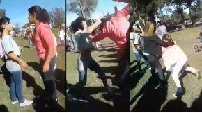 La pelea ocurrió en una escuela de Necochea
