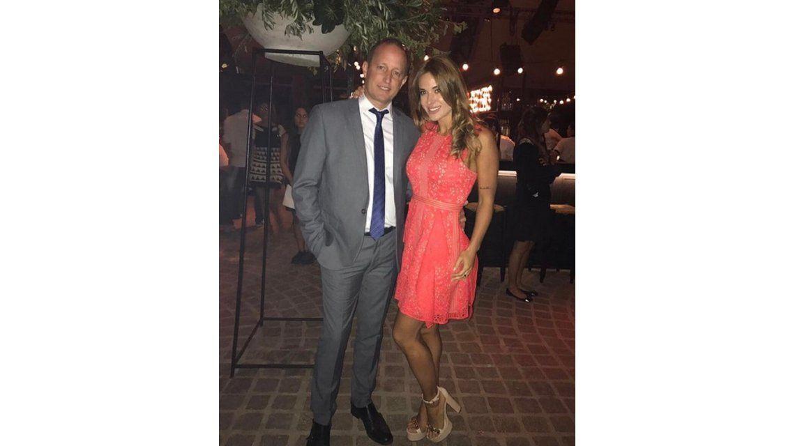 Jésica Cirio dejó ver su pancita de tres meses