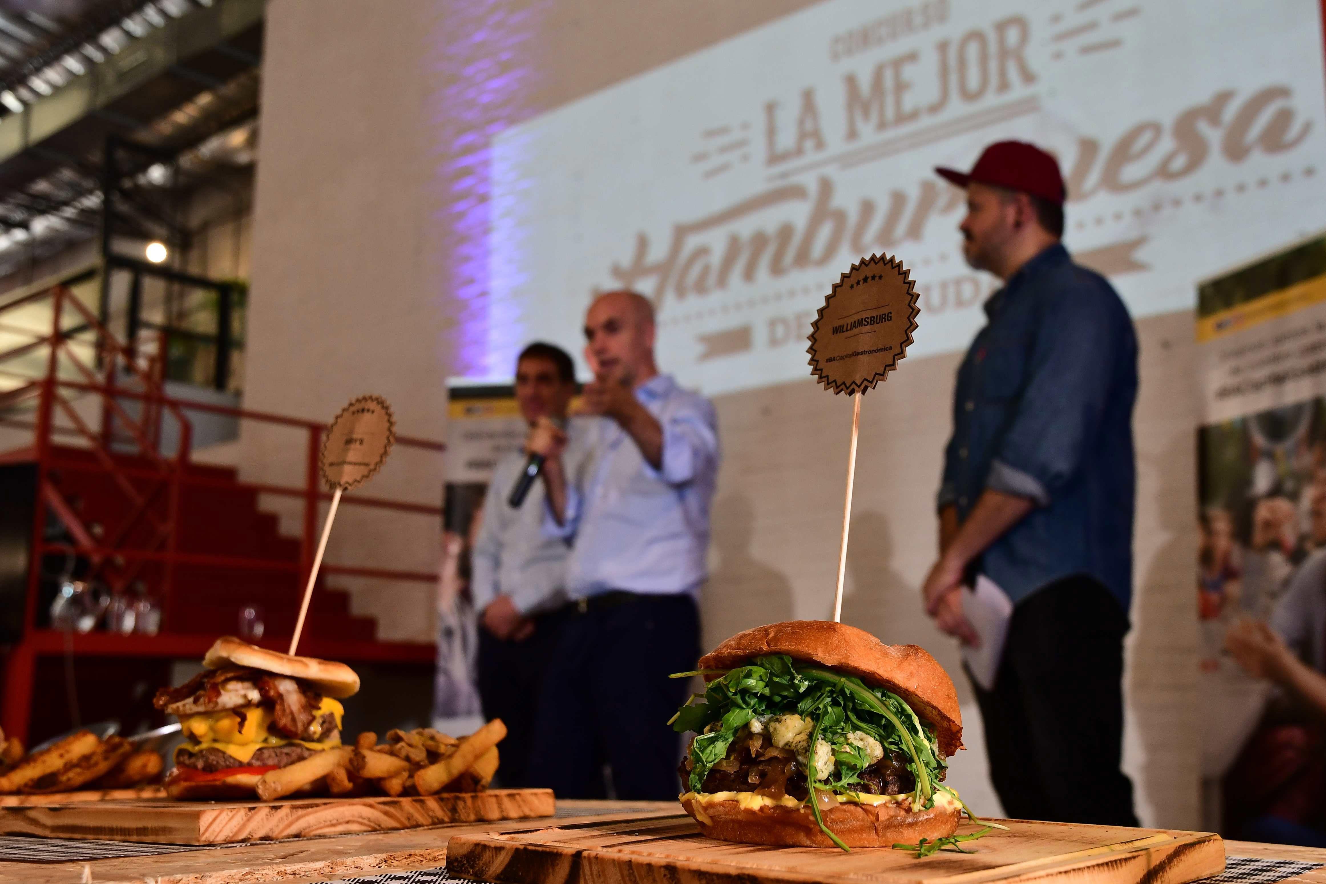 Más de 3 mil personas eligieron la hamburguesa de Williamsburg