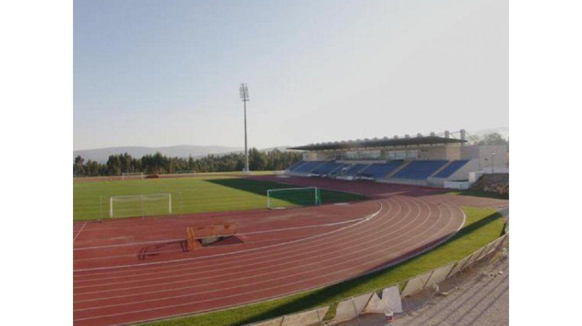 El estadio Municipal de Fátima