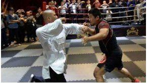 Un profesor de MMA humilló a un maestro de Tai Chi en China