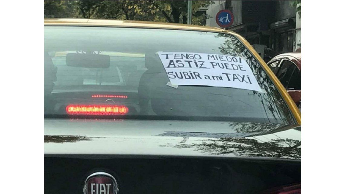 El original repudio de un taxista al fallo del 2x1