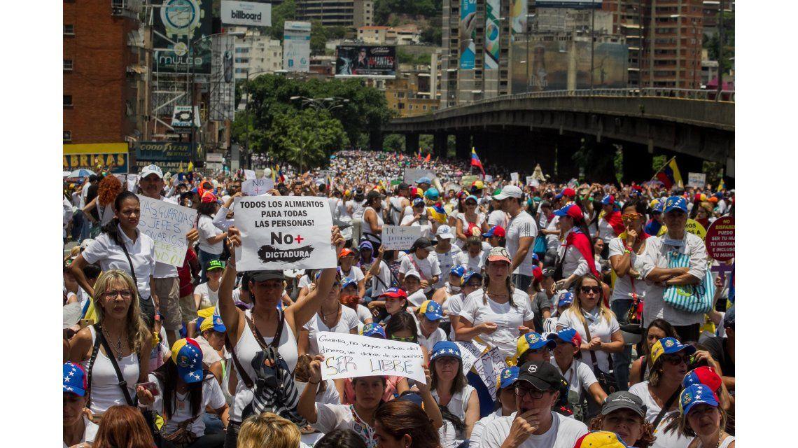 Las marchas se realizaron en varias localidades de Venezuela