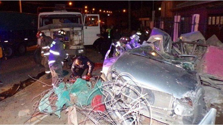 El accidente ocurrió en Trelew