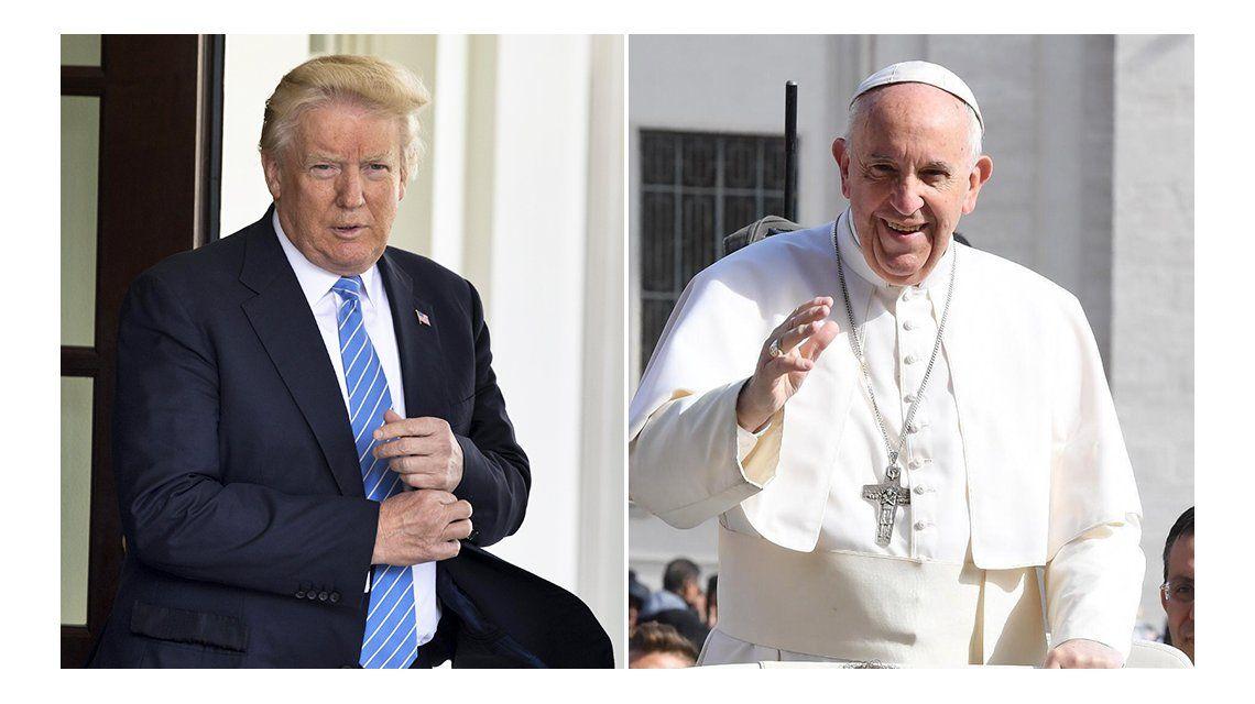 Trump y Francisco estarán cara a cara el próximo 24 de mayo