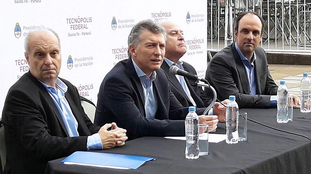 Mauricio Macri en Santa Fe