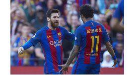 Messi y Neymar, claves en la victoria del Barcelona ante Villarreal