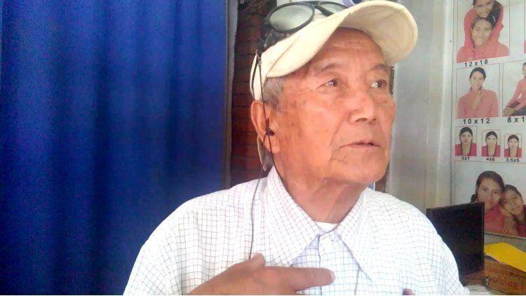 MinBahadurSherchan tenía 86 años