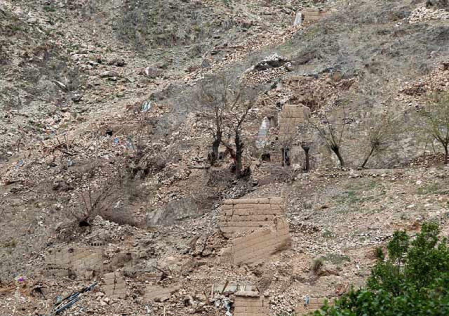 VIDEO: Así quedó el lugar donde EE.UU. lanzó la madre de todas las bombas