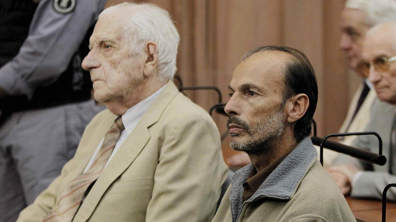 Luis Muiña cuando fue condenado en 2011