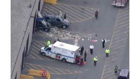 Un conductor atropelló a una multitud en Massachusetts