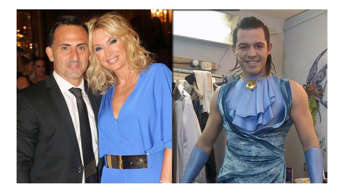 Diego Latorre le hizo pedidos a Carlos Bernal por Yanina Latorre